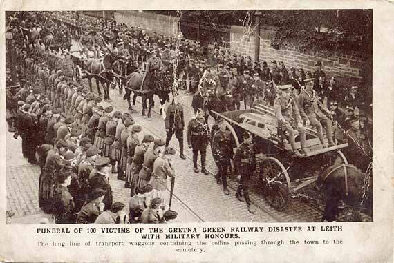 Gretna procession